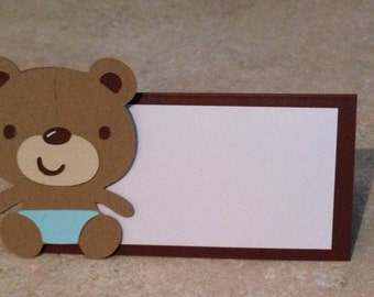 Teddy Bear Place cards