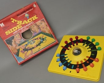 Complete VINTAGE 1974 Kohner Sidetrack Game w/ POP-O-MATIC No.306