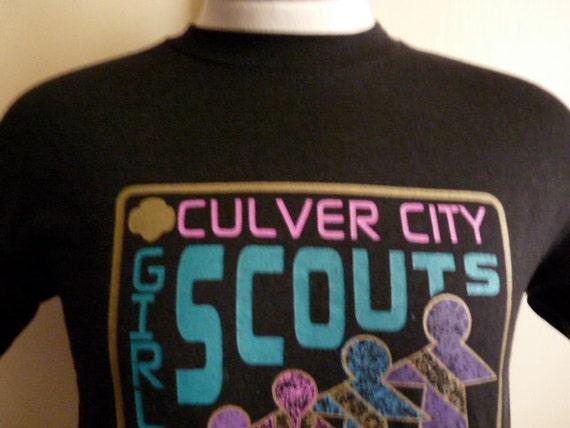 vintage 90 39 s culver city girl scouts graphic t shirt men