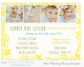 Summer Marketing Board PSD Template for Photographers, Summer 2014, vol1