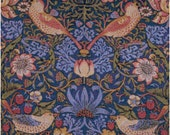 William Morris Strawberry Thief Tapestry Design Counted Cross Stitch Pattern Chart PDF Download by Stitching Addiction