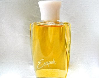 Vintage ESCAPADE by Shulton - Perfume Toilet Water - Full .75 oz Pink Top