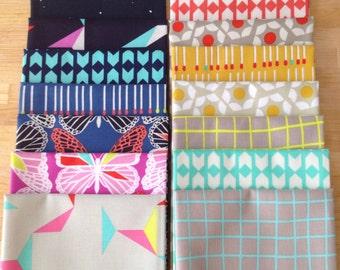 Half Yard Bundle Moonlit by Rashida Coleman for Cotton + Steel