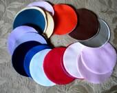 """90 Solid Colors 4"""" Circles"""