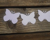 special order for  Carlisha 100 Large Die Cut Butterfliesin pink and white