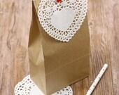 Kraft paper bags (10 pcs)