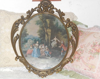 Italy Victorian Picture Very Ornate /Big not the small one/NOT INCLUDED In Any Discount or coupon Sale