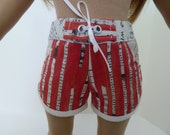 American Girl Doll Clothes -Summer Shorts Orange