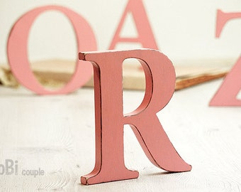 Wooden Letter, Home decor, Wall decor, Shelf decor