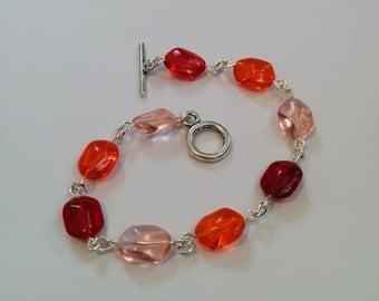 candy coloured bracelet
