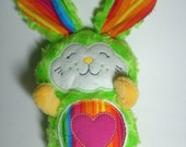 Rainbow Bunny Baby Softie/Plush