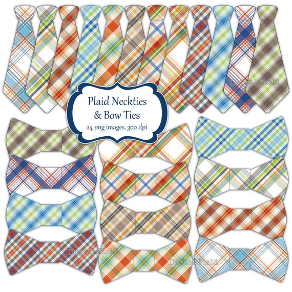 items similar to necktie and bow tie clip art set