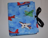 Stylish Airplane and Helicopter. All-in-One. Clutch. Diaper Changing Pad with Pocket for Diapers & Wipes Case Ready to ship!