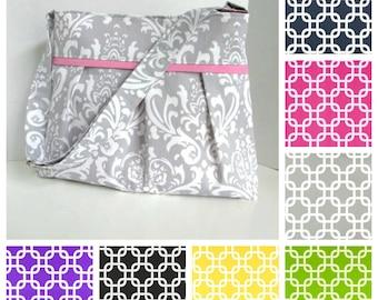 Custom Diaper Bag Medium Design Your Own Gotcha Geometric Boy or Girl