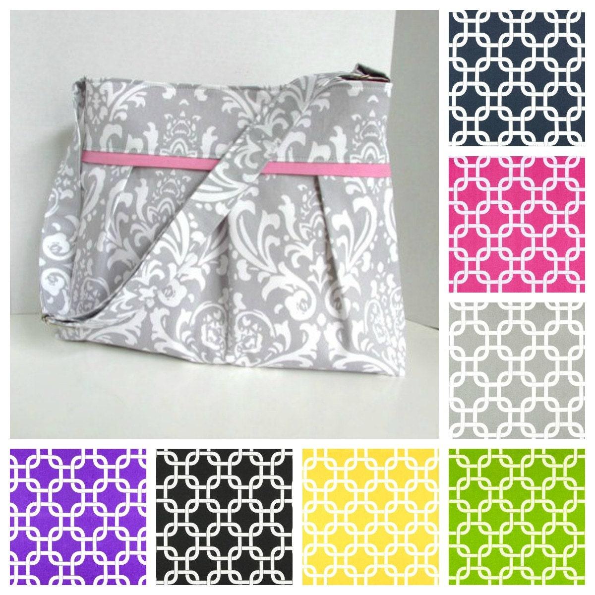 custom diaper bag medium design your own gotcha geometric boy. Black Bedroom Furniture Sets. Home Design Ideas