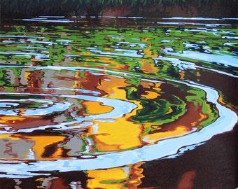 Ripple Effect, Original Acrylic on Canvas, 30 x 40