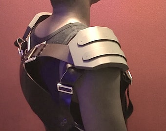 Military Style Ammo Belt with Shoulder Padding