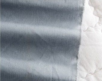 Cotton Linen Solid - Blue - By the Yard 52719