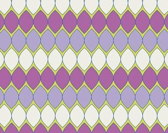 SAVE on 1.4 yd. bolt end--DREAMIN' VINTAGE--Mod Pop--Lavender--Jeni Baker--Art Gallery Fabrics