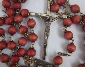 Antique Rosary Signed Italy