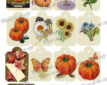 Halloween Gift Tags Printable Digi Dowload
