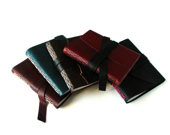 Large Leather Journal - Customize - Choose your Leather & Thread colours