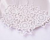 Snowflake Crochet Christmas hanging decorations Crochet snowflakes Hanging Christmas ornaments