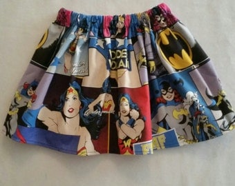 It's a Super Hero Kinda Day Skirt 4/5T Ready to Ship