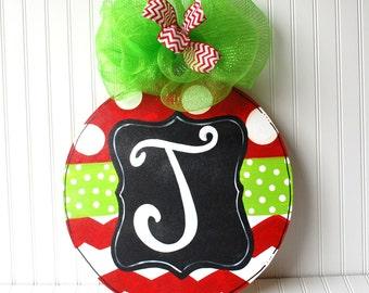 Ornament Door Hanger, Christmas Decor, Christmas Door Hanger, Holiday Decor