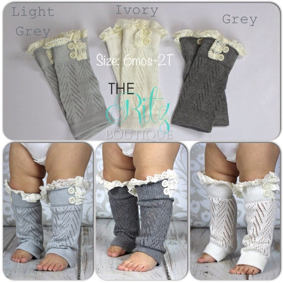 Free Crochet Pattern Leg Warmers Child : Baby leg warmers baby crochet leg warmers by TheRitzBoutique