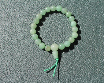 Green Aventurine Mala/Power Bead Bracelet