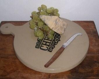 retro vintage cheese platter