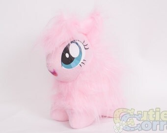 CHIBI Fluffle Puff MLP Hand-Made Custom Craft Plush