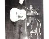 Young Guitar Playing Elvis Presley King Of Rock And Roll Las Vegas Unused Postcard