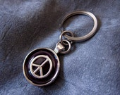 Peace Sign Keychain - Cho...