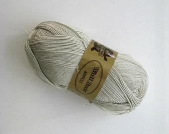 Beige Yarn - So soft knitting or crochet yarn - 1 SKEIN - Ready to Ship