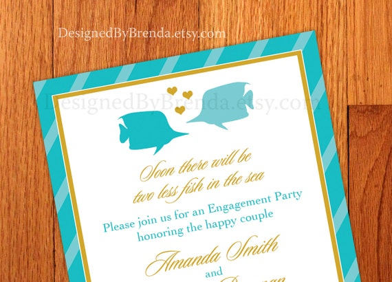 Colorful Engagement Invitations Engagement Party Invitations