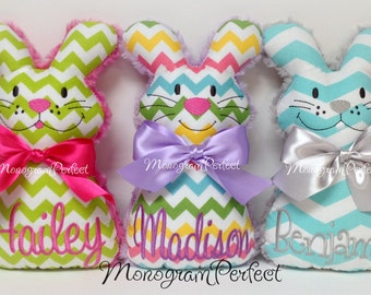 Personalized Easter Bunny Plush, Soft Toy
