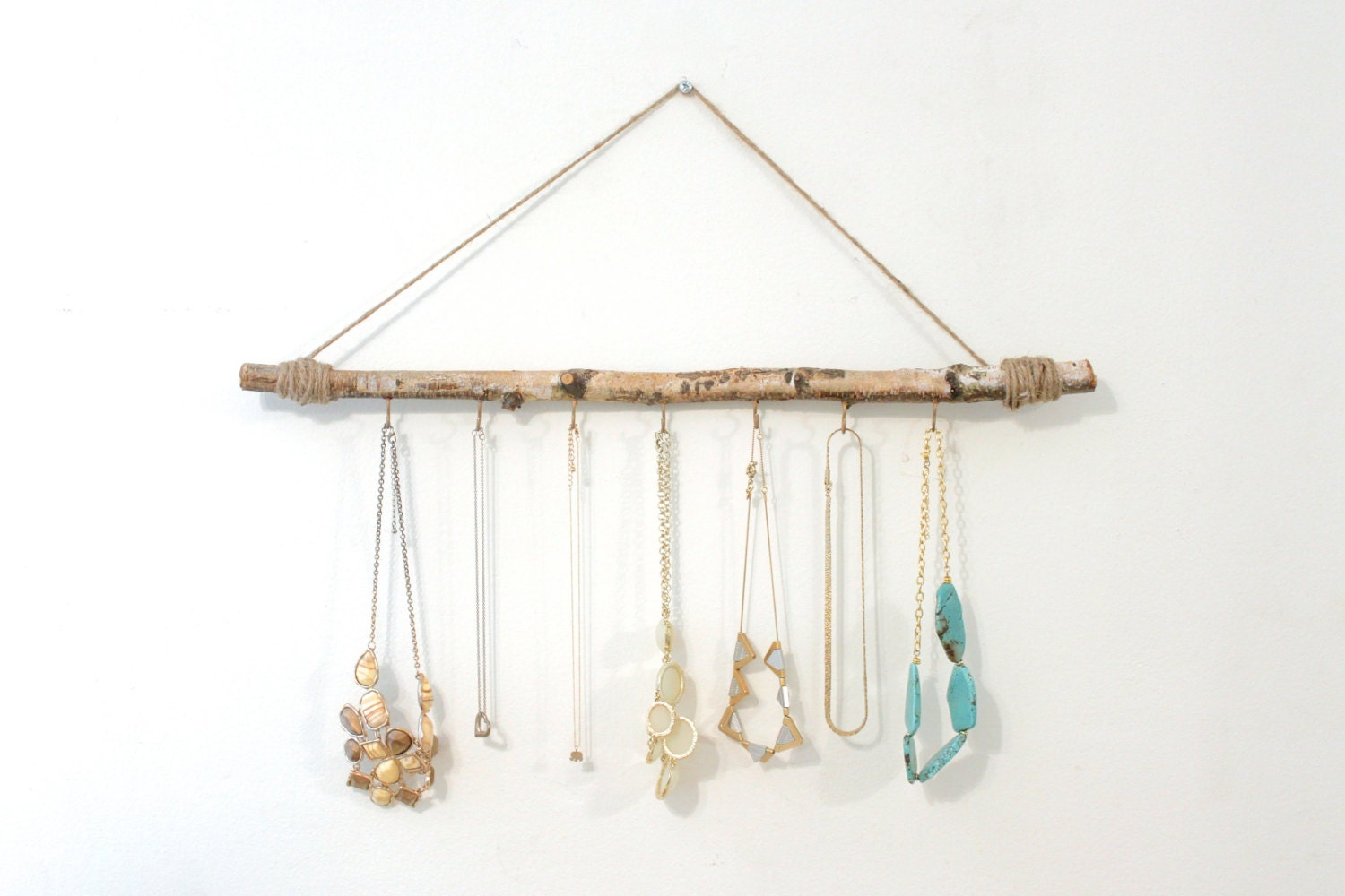 Tree branch jewelry holder jewelry branch holder jewelry for Tree branch jewelry holder