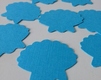 Under the Sea party / Sea shell  die cuts 200 CONFETTI / pool party / summer party