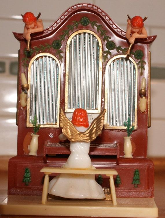 Christmas Angel Music Box Organ Christmas Music Box