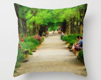 Small Throw Pillow Kenyon College Gambier Ohio Middle Path