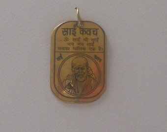 Shridi Sai Baba Yantra Divine Frequency Resonance Pendant