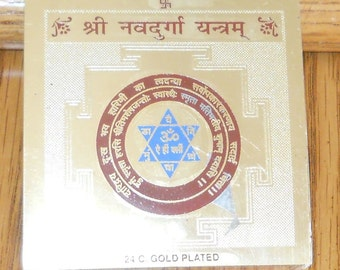9 Forms of Durga Yantra - Blessed - MUST READ