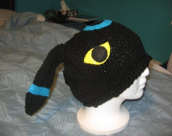 Crochet Umbreon : Shiny Umbreon Crochet Pokemon Beani e Hat ...