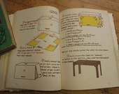 Vintage Dollhouse Decorating Book There's A  Decorator in Your Dollhouse Children's Craft Book