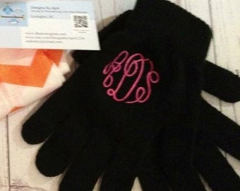 Monogram Hand Gloves