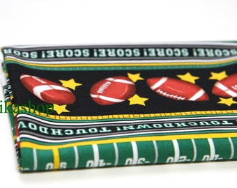 Yard - Football Touch Down 100% Cotton - Fikashop