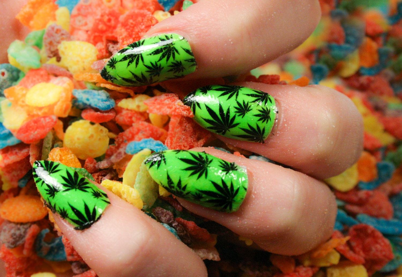 Easy rasta nail designs