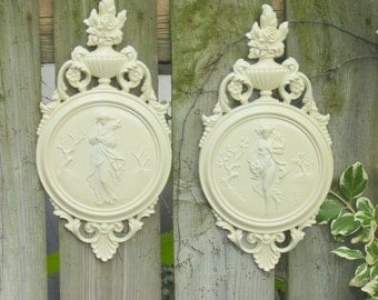 Painted wall plaques from Dart Industries